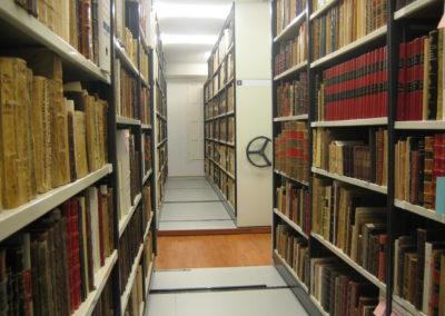 El Fondo Bibliográfico convive con el Archivo Histórico de Protocolos Notariales