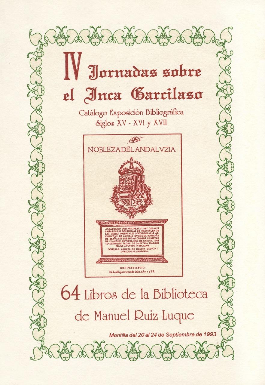 Exposición 64 libros de la biblioteca de Manuel Ruiz Luque