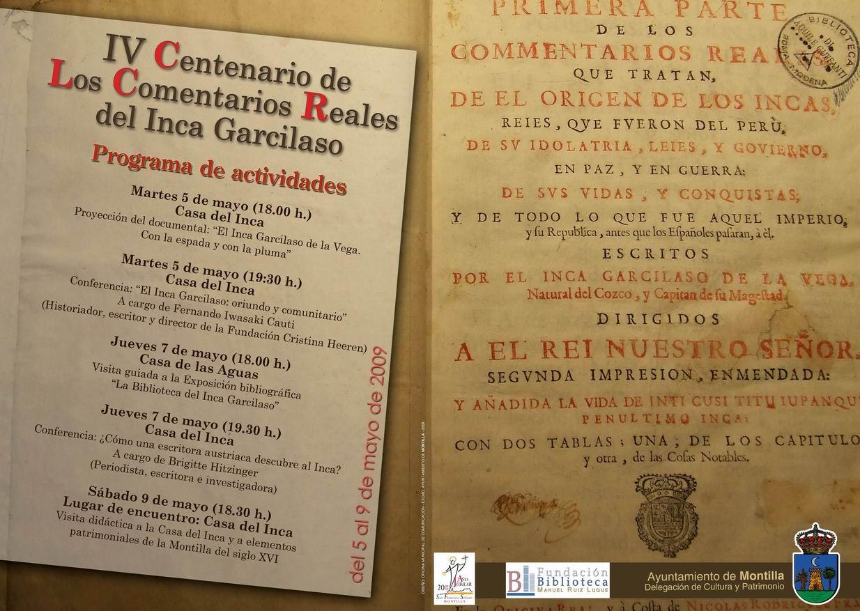 Exposición la Biblioteca del Inca Garcilaso