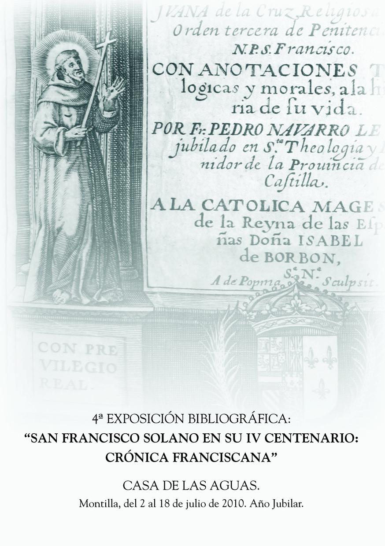 Exposición San Francisco Solano en su IV Centenario. Crónica Franciscana