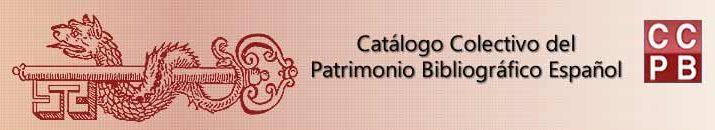 Catálogo colectivo del patrimonio bibliográfico español